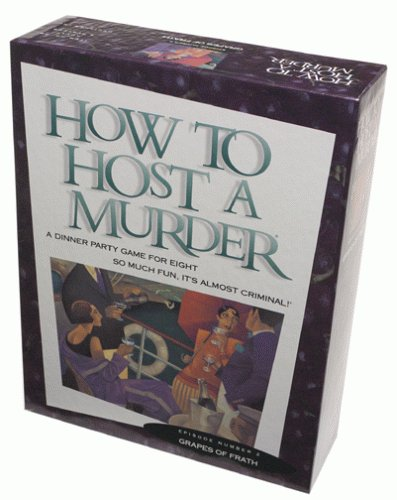 [How to Host a Murder-grapes of Frath] (Murder Mystery Dinner Costume)
