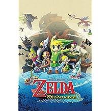 The Legend Of Zelda Wind Waker Nintendo Action Adventure Video Game Series GameCube Poster - 12x18
