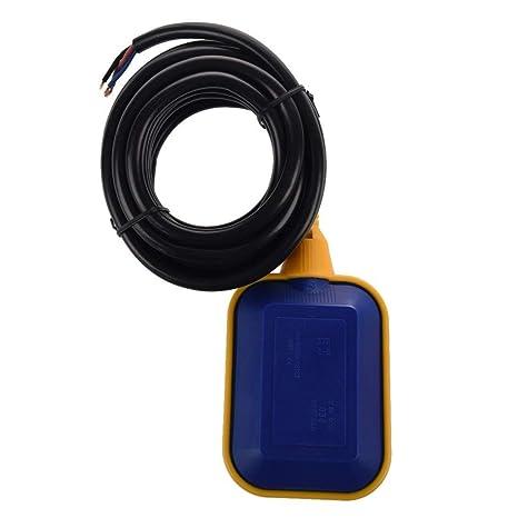 A caballo CDKJ Interruptor de flotador cable de control del sensor de nivel de agua para