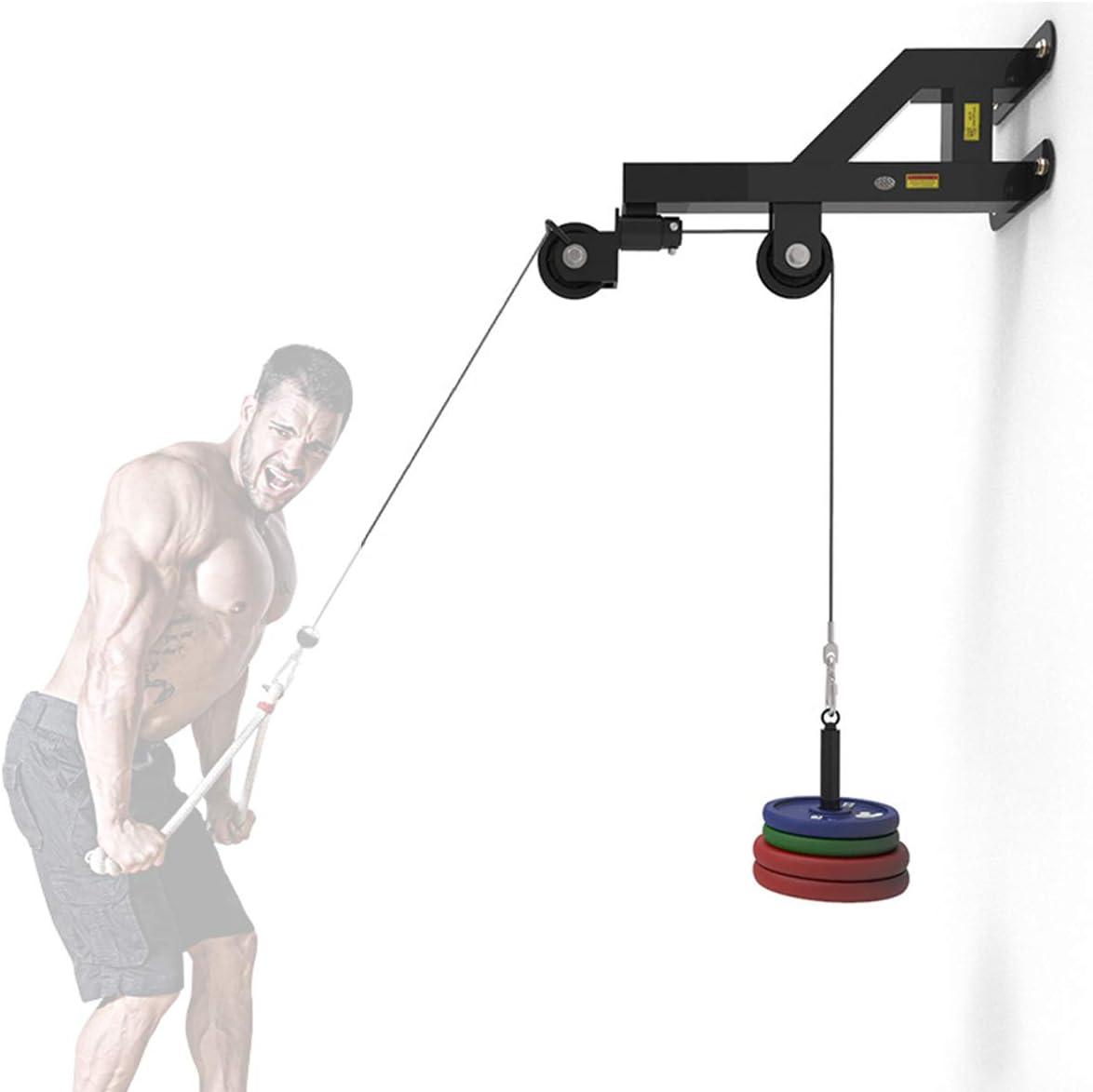Grist CC Torre de poleas Tirador Lat Soporte de Pared para Entrenamiento de bíceps y dorsales Estación Fitness