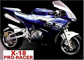 Amazon com: Super Pocket Bike (X 18 Pocket Rocket) 110cc 4
