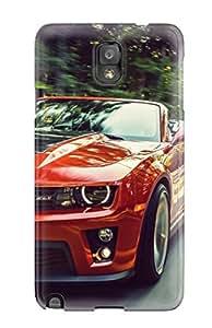 Fashion Tpu Case For Galaxy Note 3- Chevrolet Camaro 38 Defender Case Cover