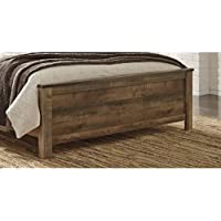 Signature Design by Ashley B446-56 Trinell Rustic Panel Footboard, King