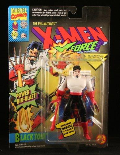 - BLACK TOM & POWER BIO-BLAST X-Men X-Force Action Figure & Official Marvel Universe Trading Card