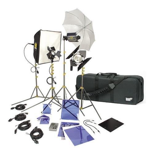 Lowel DV Creator 55 Kit, Analog & Digital Video Lighting Location Kit, with LB-35 Soft Case by Lowel