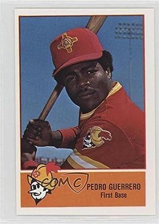 Amazoncom Pedro Guerrero Baseball Card 1978 Cramer Pacific Coast