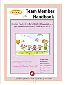 staff handbook for preschool teachers staff handbook for child care centers emedia corporation 673