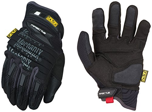 Mechanix Wear - M-Pact 2 Work Gloves (Large, Black)