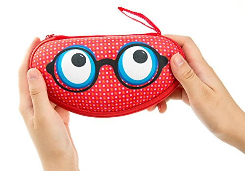 ZIPIT Beast Box Glasses Case, Red Photo #3