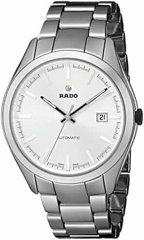 960860bcf Rado Men's R32272102 Hyperchrome Analog Display Swiss Automatic Silver Watch