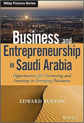 Business and Entrepreneurship in Saudi Arabia: Opportunities for