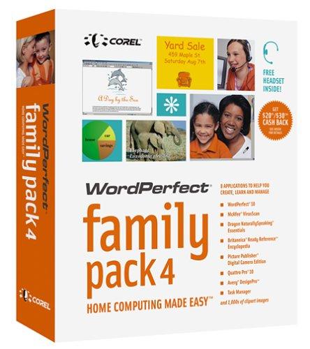 Corel Family Pack 4