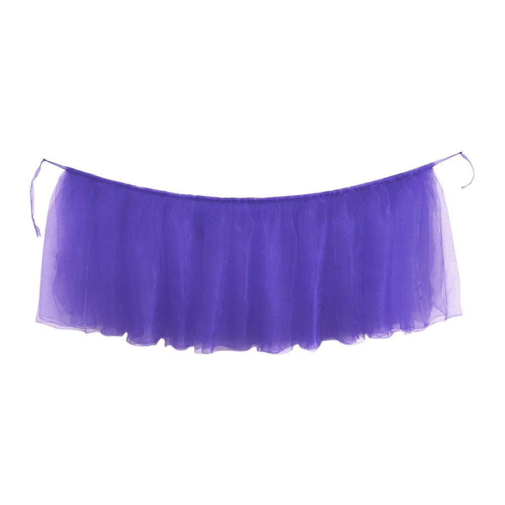 TianranRT Multicolor fiestas 1 falda para mesa de cumplea/ños decoraci/ón bodas