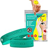 Image of Travel Insect Repellent Bracelet 6 Pack + 6 Insect Repellent Plants Control Patches + Mosquito Repellent Seal Bag | Natural Plants Geraniol based Mosquito Killer Band Repel Off NO DEET | Anti Mosquito