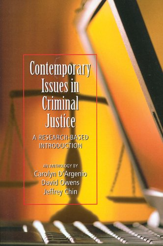 contemporary issues in criminology Css757:contemporary issues in criminology and security studies course code : css757 credit unit: 3 level: 700 semester: 1 host faculty: social sciences.