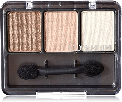 CoverGirl Eye Enhancers 3 Kit Shadow, Cafe Au Lait 105, 0.14-Ounce Packages (Pack of 3)