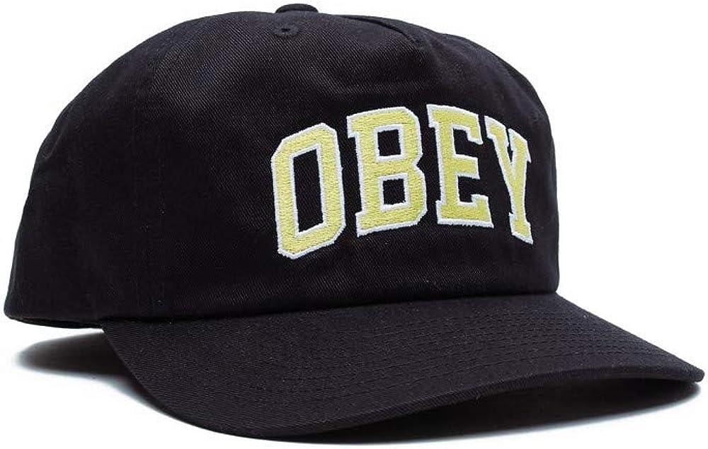 Dtp snapback OBEY Black