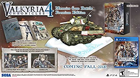 Valkyria Chronicles 4 - PlayStation 4 Memoirs From Battle Edition