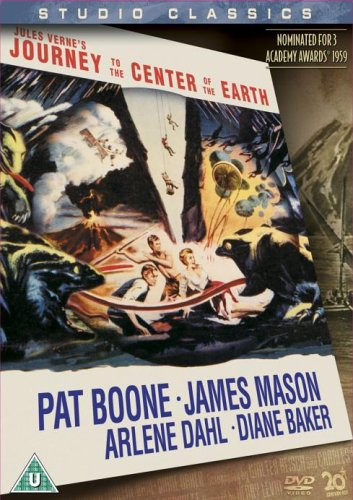 Journey to the Centre of the Earth (Studio Classic) [DVD] [1959]