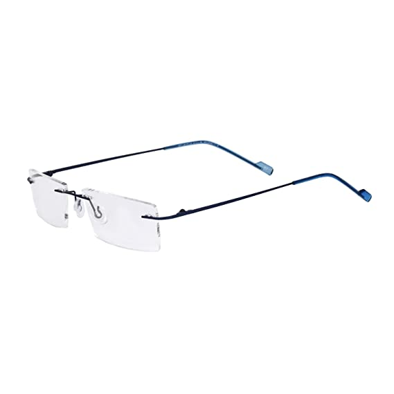 ef088d1e87 Royal Son Rimless Rectangular Spectacle Frame For Men And Women  (RS04570ER