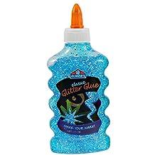 Elmer's Glitter Glue, 177.4ml (6-Ounce) Bottle, Blue (e63323t)