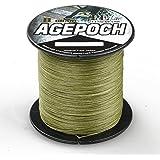 Agepoch 高強度 8ブレード 100M スーパーストロング マルチフィラメント PEライン 釣り糸 12-18号 150-300LB