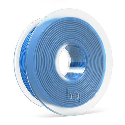 BQ F000114 – Filamento PLA de diámetro 1.75 mm, 300 g, color azul celeste