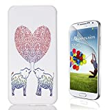Galaxy Grand Prime (G530) Case, Bonice [Relief Series] [PC Hard Protection] High Impact Ultra Slim Thin Pattern Protective Case for Samsung Galaxy Grand Prime G530 + HD Screen Protector - Elephant