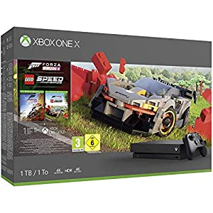 Best Epic Trends 518YFoBrtiL._SS300_ Microsoft Xbox One X 1TB Console with Forza Horizon 4 Lego Speed Champions Bundle (1TB) - Xbox One