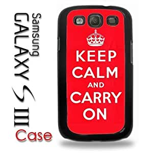 For LG G3 Case Cover PlasticKeep Calm and Carry On red original