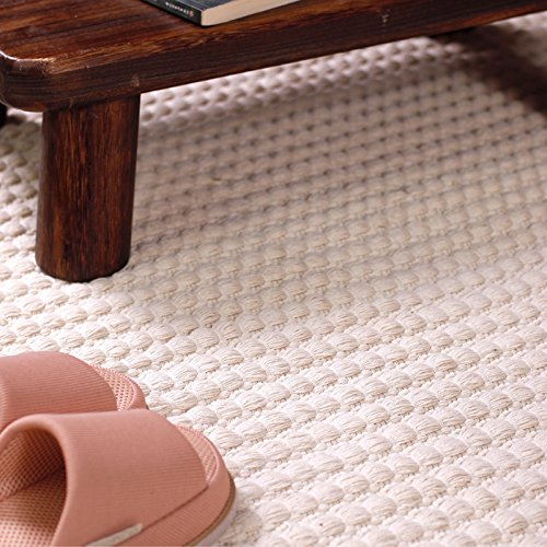 Thicken cotton hand-woven carpet bedroom bedside mats carpet baby crawling mat,145×200cm by ASIBG Home (Image #1)