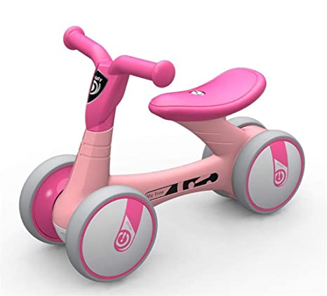MYMAO 01Bicicleta de Equilibrio del bebé, Carrito pedalless ...