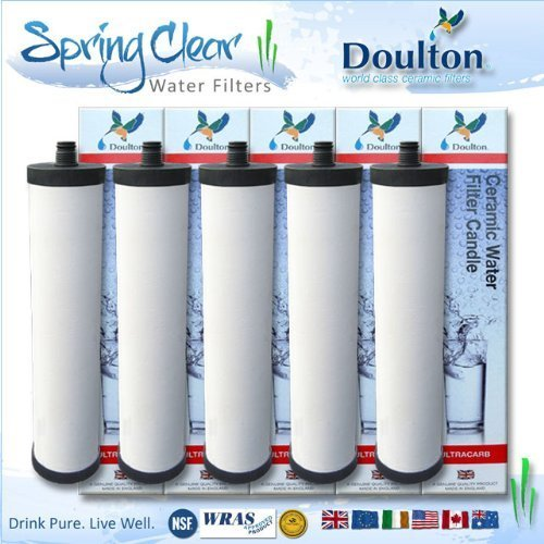 5 x Chuck dismiss - Franke Triflow Compatible Filter Cartridges By Doulton M15 Ultracarb (NO Import Duty or Taxes to pay on this product)
