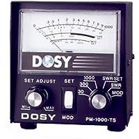 Dosy PM 1000 TS SWR Power Cb Ham Radio Wattmeter Test Center Station
