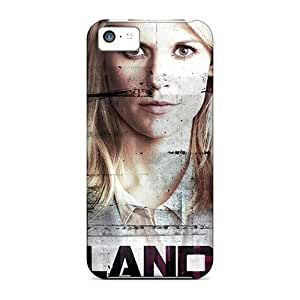 LJF phone case Mialisabblake Case Cover For ipod touch 4 - Retailer Packaging Carrie Mathison Homeland Protective Case