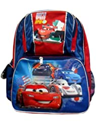 Disneys Cars Full BackPack - Disneys Cars Large School Bag
