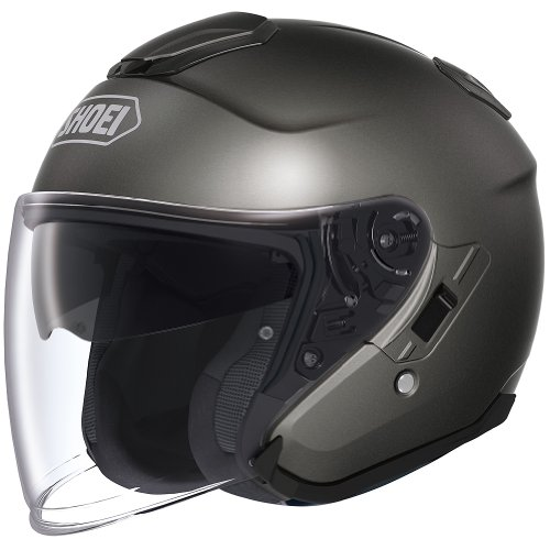 Shoei Metallic J-Cruise Touring Motorcycle Helmet - Anthracite/X-Large
