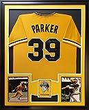 Dave Parker Framed Jersey Signed PSA/DNA COA Autographed Pittsburgh Pirates
