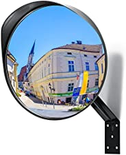 "Adjustable Convex Mirror - Clear View Garage and Driveway Park Assistant - 12"" Curved Security Mirror Ext"