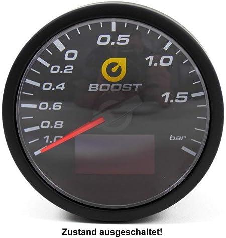 4in1 Ladedruck Anzeige 60mm Öldruck Öltemperatur Volt Gauge Klarglas Tt 1013081 Auto