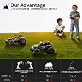 HisHerToy 4WD RC Trucks for Adults IPX4
