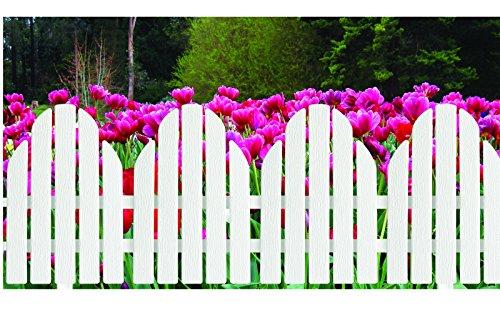 Adirondack Style White Garden Borders product image