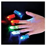 Novelty Place [Premium Quality] LED Party Finger Lights for Kids (40 Pcs)