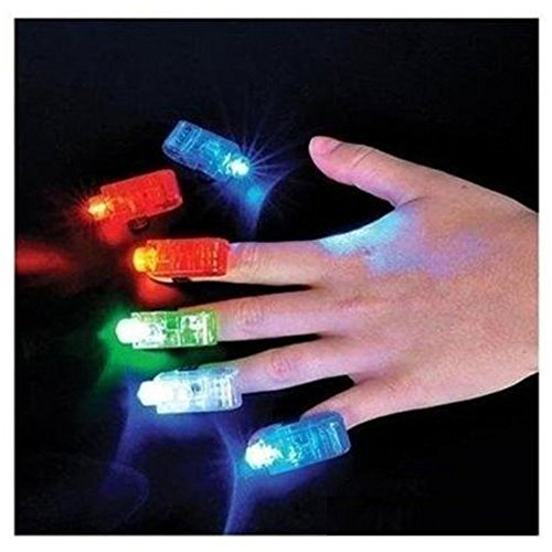 Novelty Place [Premium Quality] LED Party Finger Lights for Kids (80 Pcs)