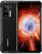 DOOGEE S97 Pro [2021] Outdoor Smartphone 8GB + 128GB met infrarood-afstandsmeter, 48MP quad-camera, 8500mAh 33W snel opladen IP68 IP69K mobiele telefoon, 4G Android 11 Robuuste Smartphone Helio G95 6.39 inch, NFC, Zwart