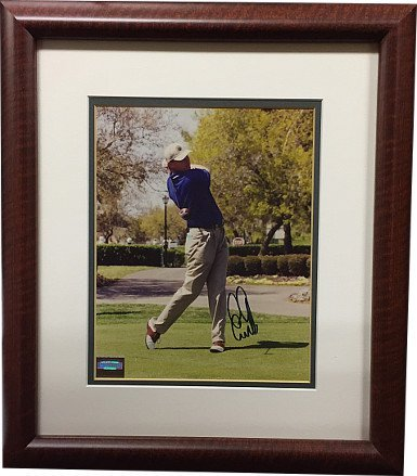 RDB Holdings & Consulting CTBL-020517 8 x 10 in. Ernie Els Signed Vintage PGA Photo Framed - Mounted Memories Hologram from RDB Holdings & Consulting