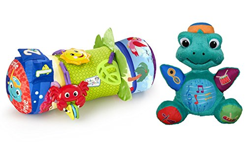 Baby Einstein Rhythm of The Reef Prop Pillow with Press & Play Plush Toy