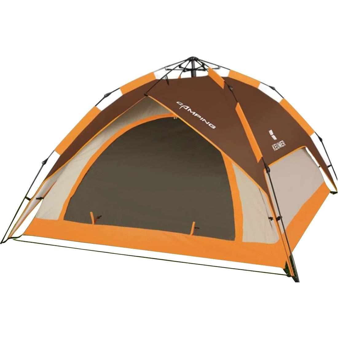 MINGANGSAYONE Wildes kampierendes Wasserdichtes Zelt für Das Zelt mit 3 Personen oder 4 Personen