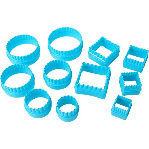 Home-X SH1290 Cutters, Blue