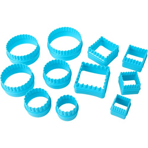 Home-X SH1290 CUTTERS, Blue (Graduated Circles Blue)